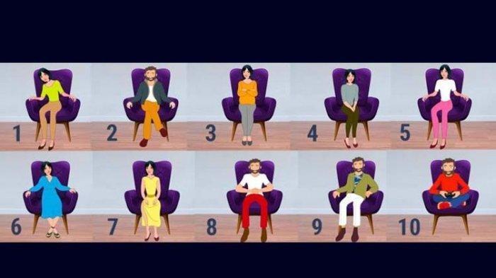 Tes Kepribadian: Ternyata Posisi Duduk Dapat Gambarkan Karakter Asli Seseorang