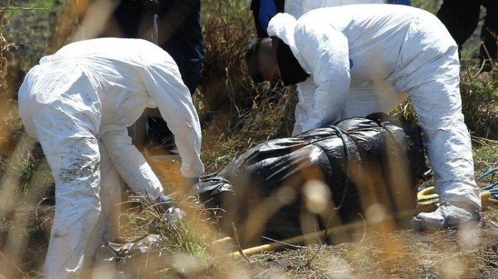 Potongan 19 Jenazah Dalam Kantong Plastik Ditemukan Terapung di Saluran Pembuangan
