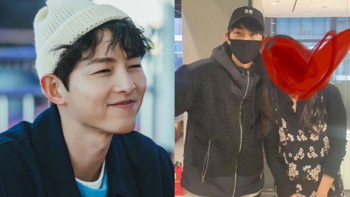 Potret Song Joong Ki dan Seorang Fans Tuai Komentar, Sikap Asli Mantan Suami Song Hye Kyo Dipuji