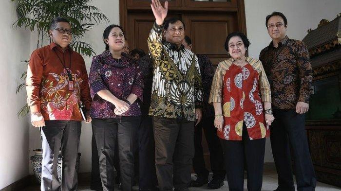 Ini Penjelasan Prabowo Seusai Bertemu Megawati