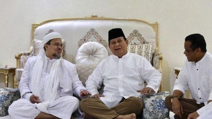 Sikap Prabowo Disorot, Dulu Kompak Serang Jokowi, Kini Bos Gerindra Diam Saat FPI Disebut Terlarang