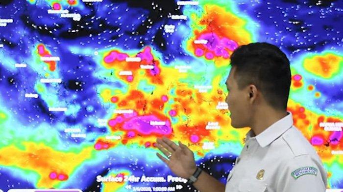 BMKG Cuaca Ekstrem 14 Desember 2020 Di Daerah 25 Provinsi Hujan Petir Angin Kencang, NTT DimanaSaja?