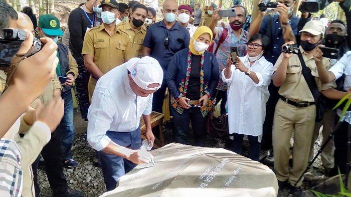 Gubernur NTT Resmikan Kampus Bambu Pertama di Indonesia