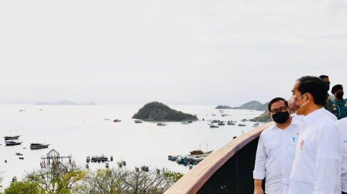 Presiden Jokowi Kunjungi Tempat Terbaik Menikmati Senja di Labuan Bajo Manggarai Barat