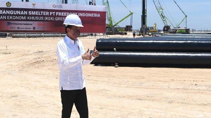 Jokowi: Smelter PT Freeport Indonesia di Gresik Akan Menjadi Smelter Single Line Terbesar di Dunia