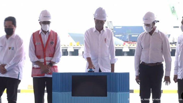 Presiden Jokowi Resmikan Terminal Multipurpose Wae Kelambu, Diharapkan Tekan Biaya Logistik
