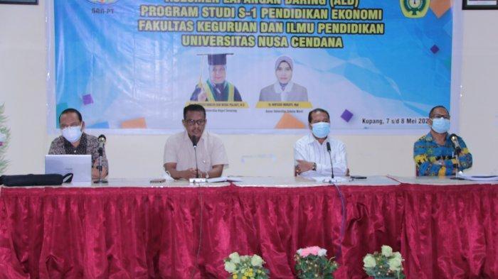 Perdana di Undana, Prodi Ekonomi FKIP Divisitasi dengan Sembilan Kriteria
