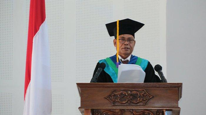 Prof. Yosep jadi Guru Besar Ilmu Penyakit Tumbuhan,Rektor Undana : Proficiat dan Selamat