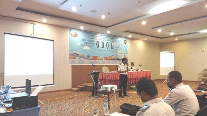 BPTD Wilayah XIII NTT Sosialisasi Penanganan Overdimensi dan Overloading ODOL 2021