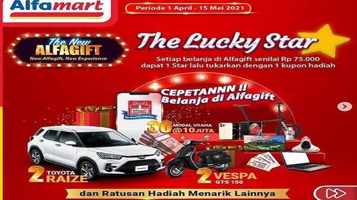 Promo Terbaru <a href='https://manado.tribunnews.com/tag/alfamart' title='Alfamart'>Alfamart</a> PSM 1 - 7 April 2021, Paket Axis Diskon Rp 20 Ribu, Tukar Voucher Cashback