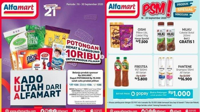 Katalog Promo Jsm Alfamart 25 September 1 Oktober Ayo Buruan Belanja Hemat Ada Diskon Akhir Pekan Pos Kupang
