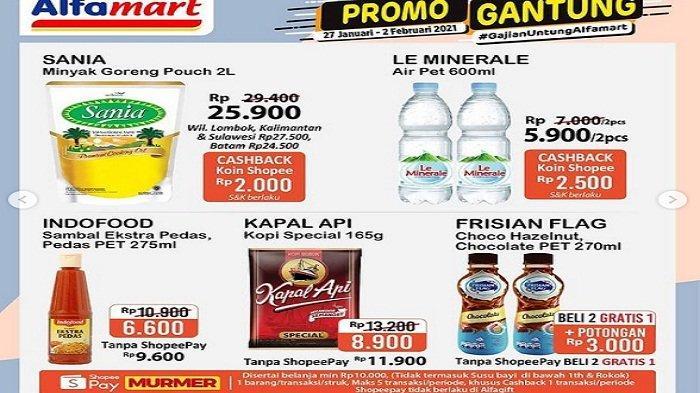 Simak Promo Alfamart Terbaru Pekan Ini Februari 2021, Promo Minyak Goreng, Katalog Promo JSM Alfama