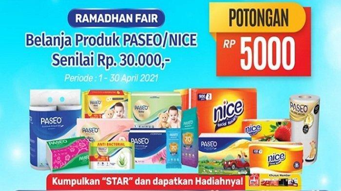 Terbaru! Promo Alfamart Hari Ini 12 April 2021, Beli Paket Data 50GB Hanya Rp 100 Ribu, Syrup Murah