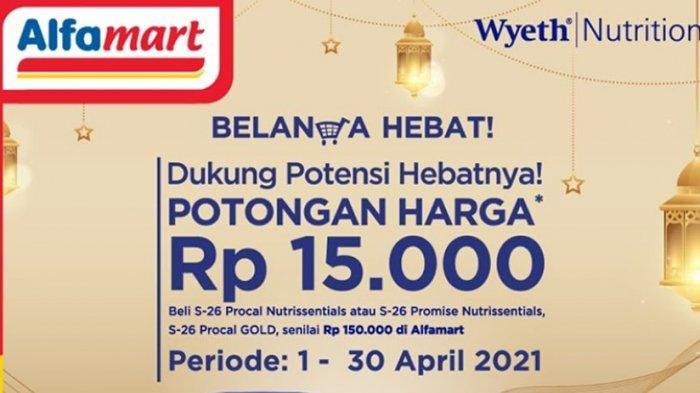 Promo Alfamart Senin 5 April 2021 Paket Ramadhan Hemat Diskong 20 Persen, Ada Voucher Rp 10.000