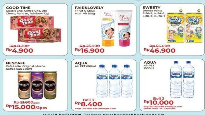Promo Alfamart Besok Jumat 9 April 2021, Dapat Voucher Tambah Daya Listrik, Promo Munggahan Spesial
