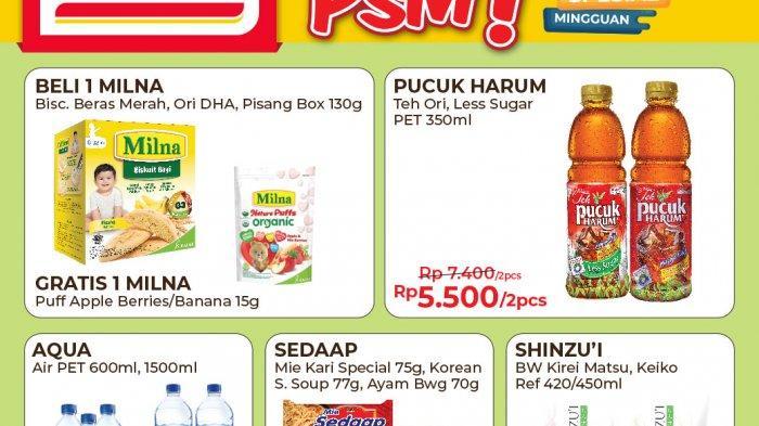 Promo Alfamart PSM Hari Terakhir Senin 7 Juni 2021, Bayar Pakai Gopay Dapat Ekstra Potongan Rp 1.500