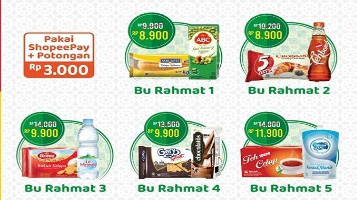 Promo Alfamart Senin 5 April 2021, Paket Bu Rahmat Buka Puasa Rp 8.900, Paket Pak Rahmat Diskon 20%