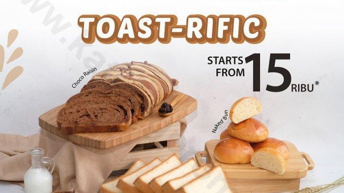 BreadTalk Besok 24 Mei 2021 Toast-Rific Mulai Rp 15 Ribu, Nikmati Oreo Cup Favorit Mulai 23 Mei 2021