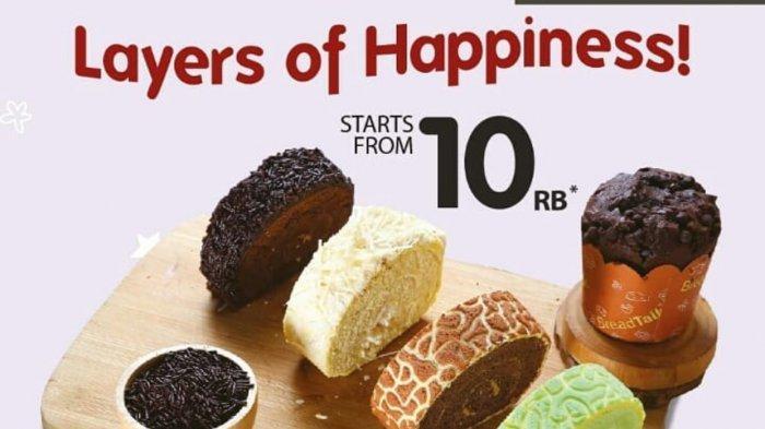 Promo Terbaru BreadTalk Hari Ini 12 April 2021, Lapis Slice dan Spesial Dry Cake Rp 10 Ribu