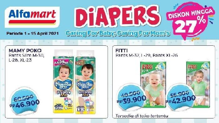 Katalog Promo Alfamart Besok Jumat 9 April 2021, Diapers Murah, Paket Ramadan Hemat
