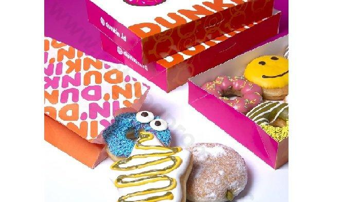 Promo Dunkin Donuts Hari ini Rabu 23 Juni 2021, Beli 8 Donat Classic Gratis 4 Donat + 1 Minuman