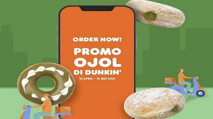 Dunkin Donuts Rabu 21 April 2021, Paket Beduk untuk Buka Puasa 6 Donuts 2 Minuman Dingin Rp 70 Ribu