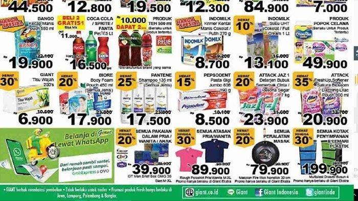 Promo Jsm Giant 5 Hari 23 27 Oktober 2020 Bimoli Sedaap Minyak Goreng Pouch 2 Lt Rp 39 900 Pos Kupang