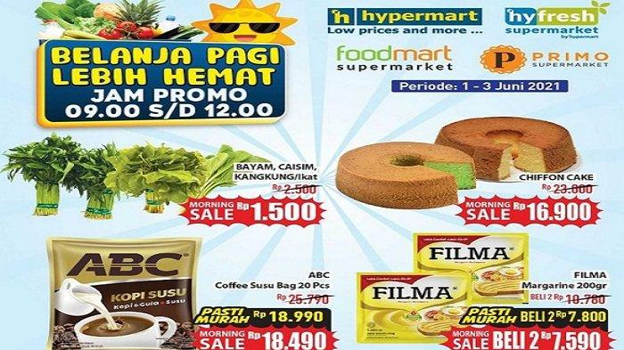 Hypermart 2 Juni 2021, Tissue Rp 8.490, Campina Ice Cream Rp19.900 Kapal Api Coffee Spesial Rp17.990