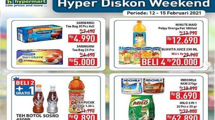 Katalog Promo Hypermart Hari Ini 14 Februari 2021, Diskon20% ember sapu mop, Filma Rp 7.800/2pcs