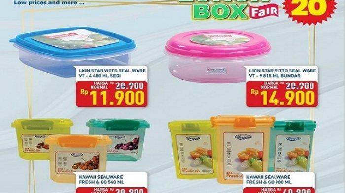 Hypermart Hari ini 15 Februari 2021 Lunch Box Fair Diskon20%, Coca Cola Murah Rp 8.890/botol