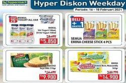 Hypermart Hari ini 18 Februari 2021, Biokul Rp5.850, Kapal Api Rp9.900, Sweety Pantz Bronze Rp54.900