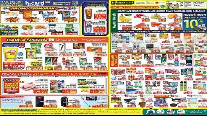 Promo Hypermart Hari Ini Hingga Senin 21 Juni : Buah-buahan Murah, BlueBand Rp7.390, Mangkuk Keramik