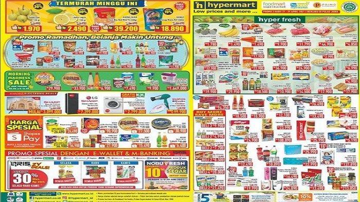 Hypermart Hari Ini hingga Besok Kamis 29 April 2021 Ikan Kaleng ABC Rp 7.900, Diskon 30% Khong Guan