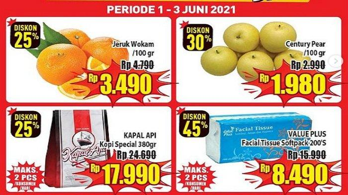 Hypermart Hari Ini 3 Juni 2021 Brownis Bar Rp29.900, Speaker Polytron Murah Gula Pasir 10.390/kg