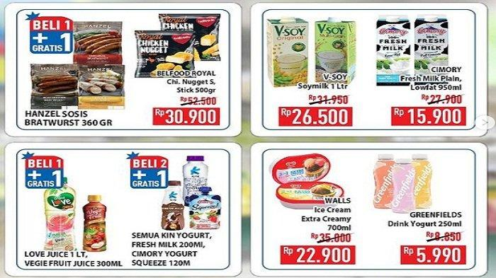 Promo Hypermart Sabtu 24 April 2021, Beli 3 Lebih Untung Pop Mie So Klin, Gula Pasir Rp 12.190/kg