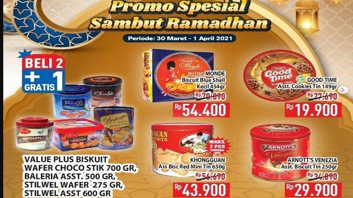 Promo Hypermart Hingga 1 April 2021, Beli 2 Dapat 3 Biskuit Kaleng, 2 So Klin 770 gram Rp 26.990
