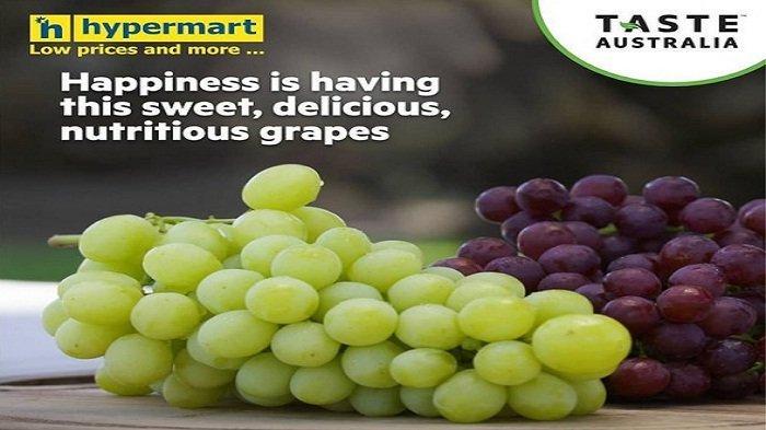 Hypermart Hari Senin 3 Mei 2021, Diskon15% Buah-buahan Pisang Anggur, Harga Murah Jeruk Nanas Pear