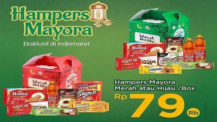 Indomaret Hari Ini 27 April 2021, Diskon 10% Produk P&G, Hampers Mayora Rp79 ribu