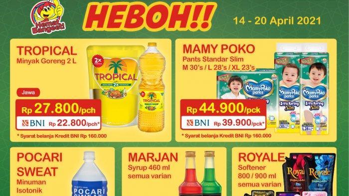 Promo Indomaret Hari ini, Promo Heboh 14-20 April 2021, Minyak Tropical 2L Cuma Rp 27 Ribu
