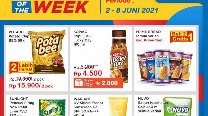 Promo Indomaret Product of The Week Senin 7 Juni 2021, Sunlight Refill Rp 12.500