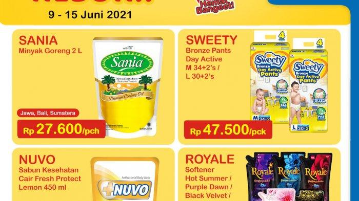 Promo Indomaret Heboh Kamis 10 Juni 2021, Royal Softener Rp 15.000, Nuvo Rp 14.500