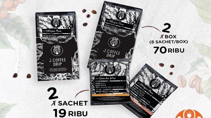 Promo Terbaru JCO Hari Ini 8 April 2021, Beli 1 Dapat 2 Box JCOFFEE DRIP Rp 70 Ribu, Donuts Murah