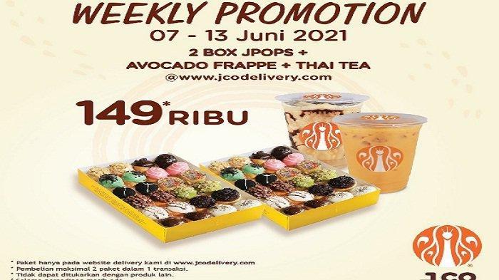 Promo JCO Weekly Promotion 8 Juni 2021