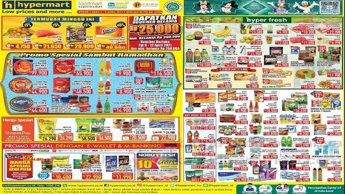 Katalog Promo Hypermart Senin 5 April 2021, Wardah Diskon 40%, Lifebuoy 2 pcs Hanya Rp 32.490