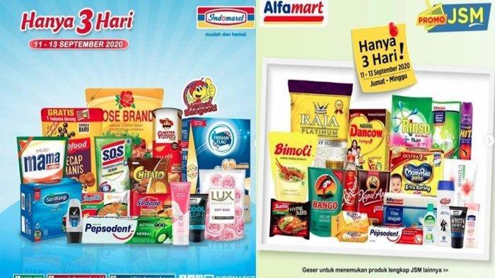 KATALOG PROMO JSM Indomaret dan Promo JSM Alfamart 20 September 2020, Buruan Hari Ini Terakhir