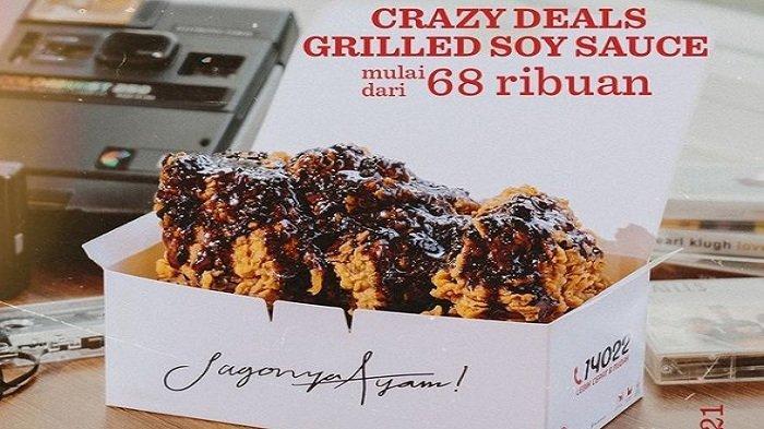 KFC Hari Ini 16 Juni 2021, Rasanya Makanan Rumah 5 Ayam Goreng Dibalur Saus Pedas Manis Rp 60Ribuan