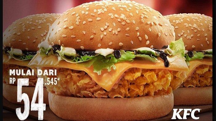 Hemat Buka Puasa Bertiga di KFC Hari Ini 27 April 2021, 3 Burger Rp54Ribu 5 Ayam 3Nasi Rp 68Ribuan