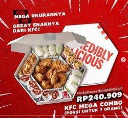 Promo KFC Mega Combo Hari ini 8 Desember 2020, Nikmati Makan Ber-7 Mega Ukurannnya Great Enaknya
