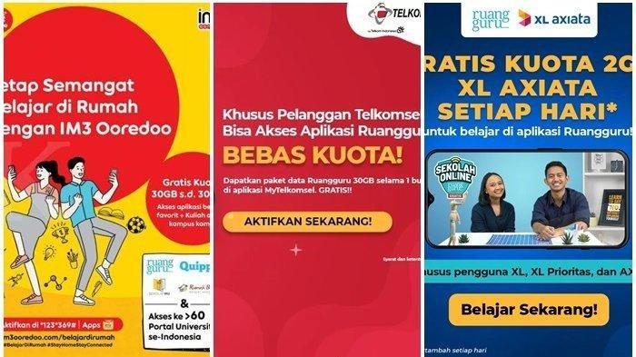 CARA Aktivasi Promo Kuota Gratis dan Paket Internet Murah Telkomsel, XL dan Indosat, Lihat di Sini