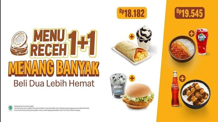 Promo McD Hari ini Kamis 8 April 2021, Paket Family McD Hemat 40%, Mc Fllury + Burger Rp 18 Ribuan